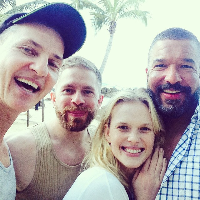The loveliest crew ever and the most beautiful day in Puerto Rico
