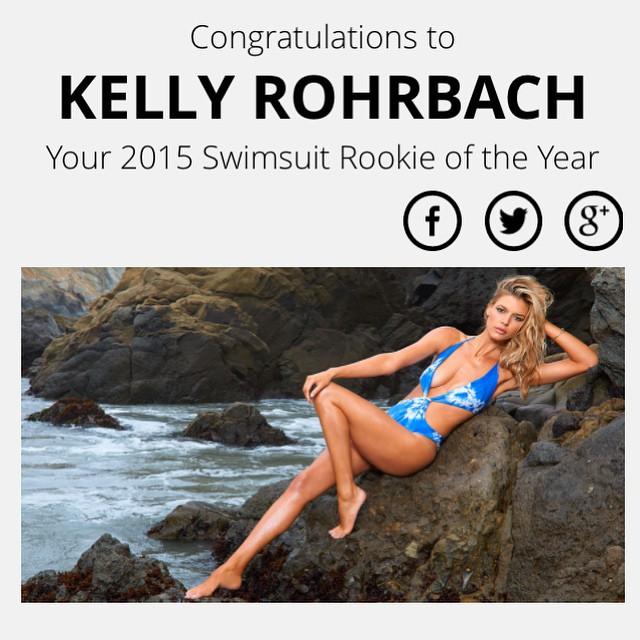 Congrats @kellyrohrbach !!!! So proud of you beauty sending you love, ya badass B @si_swimsuit