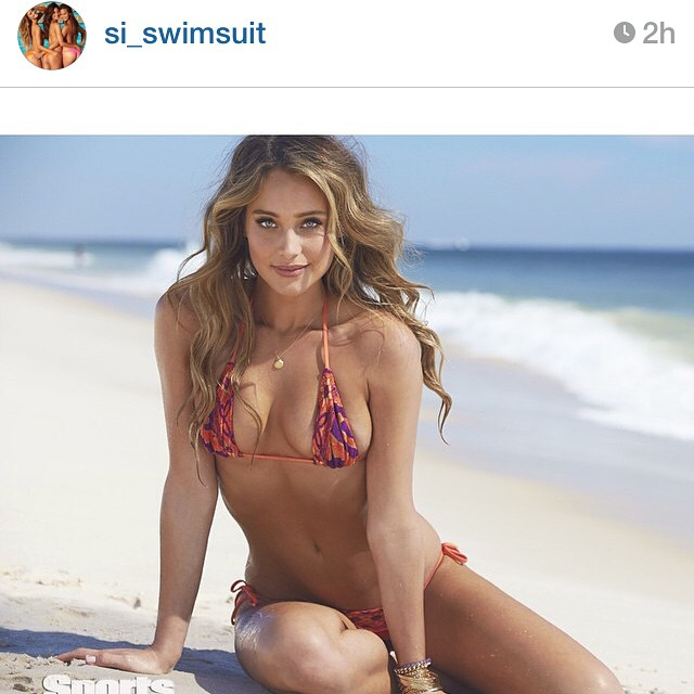 Repost from @si_swimsuit of my little sis @hanni_davis