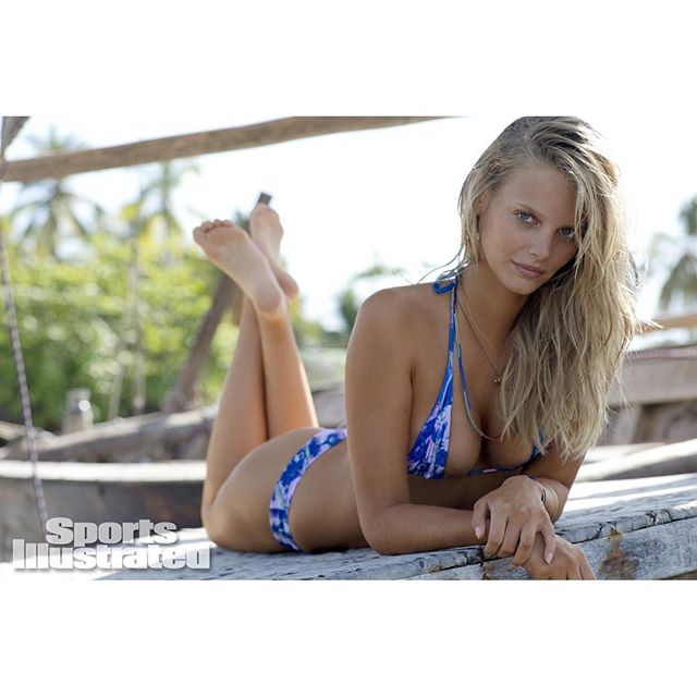 Happy Birthday to @si_swimsuit alum @marloeshorst (@derekkettela) #siswim