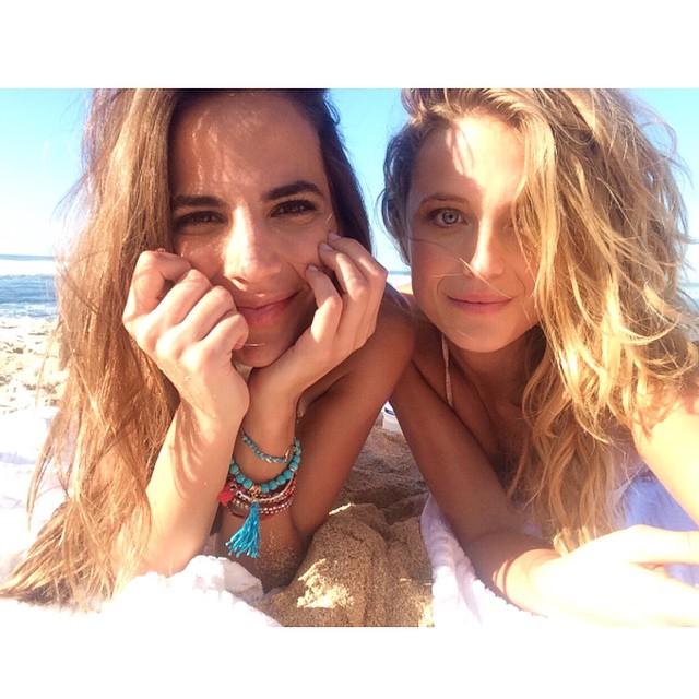 Feeling like two of the luckiest girls in the world emoji️emojiemoji @helenasopar