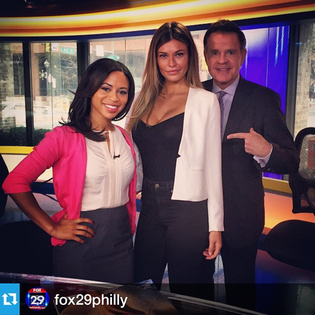 @fox29philly Such an honor to be on your show! I love you guys #philly #philadelphiastyle