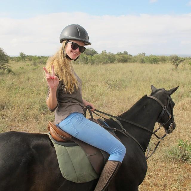 Horseback riding in Kenya was the best ever!! I wanna go back!! Too cold in the UK! #horseriding #kenya #dutchieonsafari