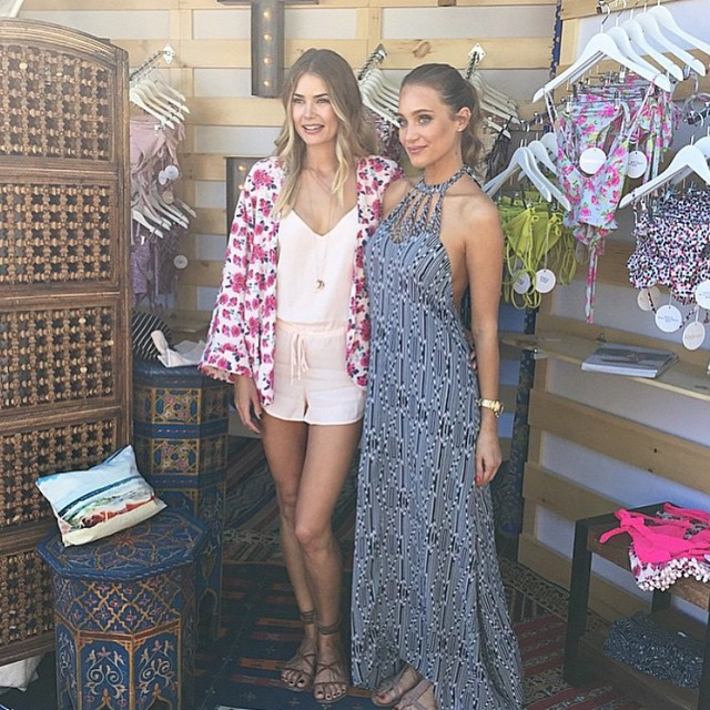 Congrats @toripraver @toripraverswimwear on a beautiful collection!! Thank you for having me at your show!! #miamiopen