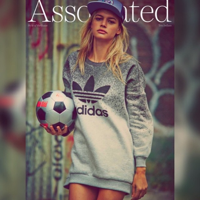 Let's play ball! So excited about my @associatednyc cover shot by @guyaroch with @adidasoriginals #thankyou