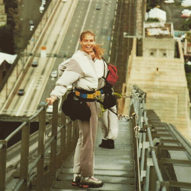 Will be doing this again too!!!!! Harbour bridge ,Sydney 1999