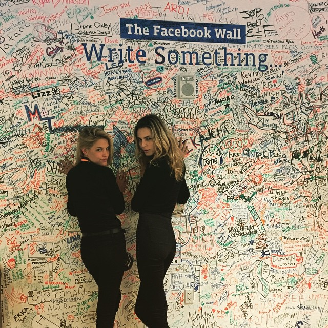 Don't be alarmed, just running @facebook with @andrejapejic