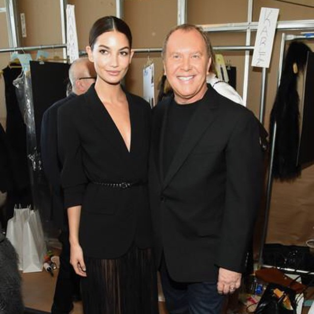It's impossible not to Smile when around this incredible man @michaelkors Such a beautiful show