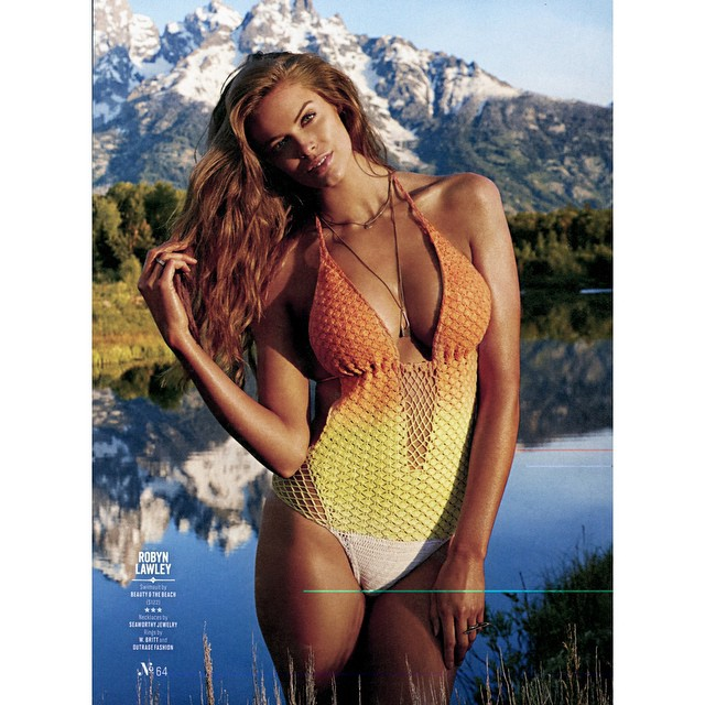 @si_swimsuit we shot this at Jackson Hole, and holey moley this place was unreal!!! #siswim