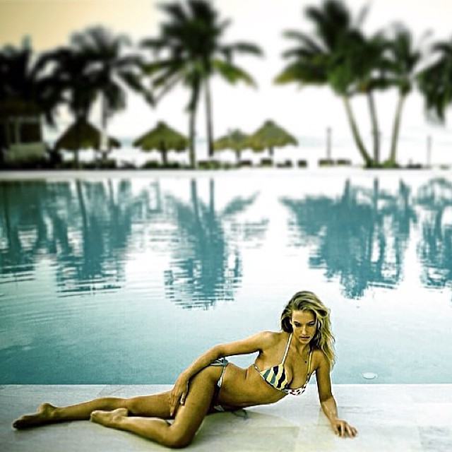 Courtesy of @troyzan back when I was a #rookie @si_swimsuit #st.lucia @trumpmodels