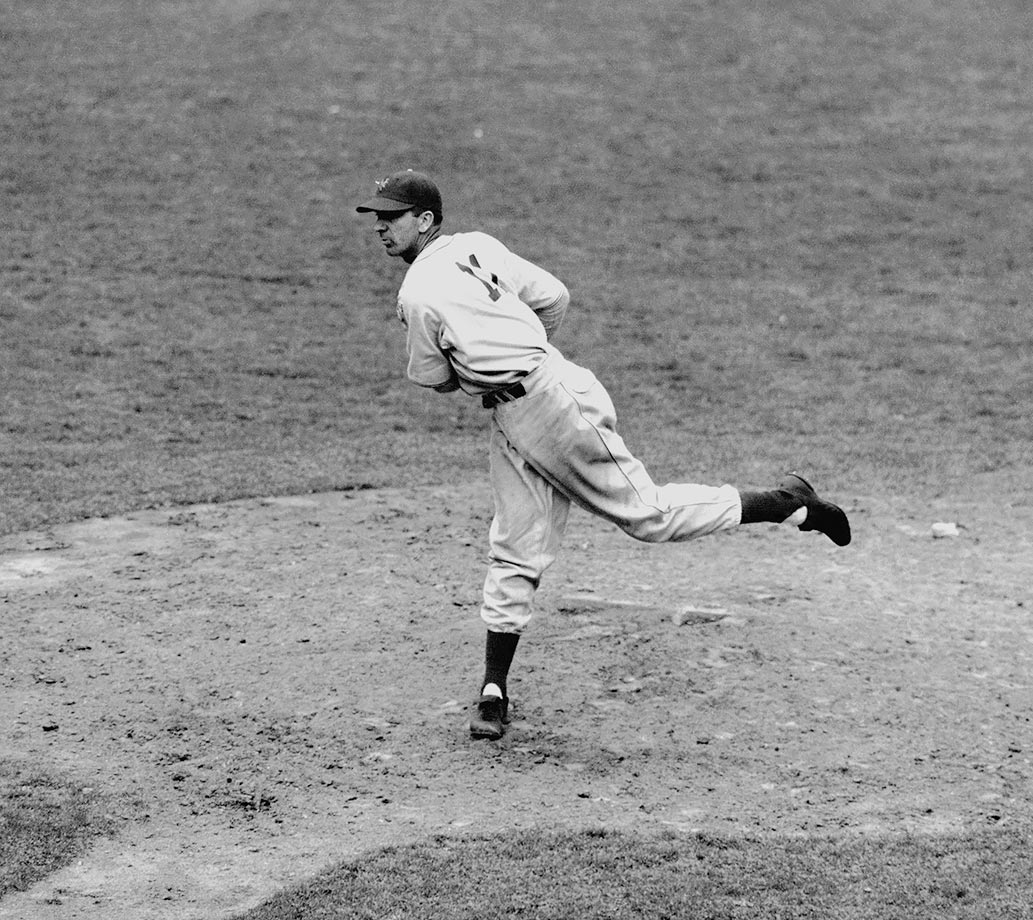 The New York Giants' pitcher famous for his screwball was a nine-time All-Star, two-time NL MVP and 1933 World Series champion.