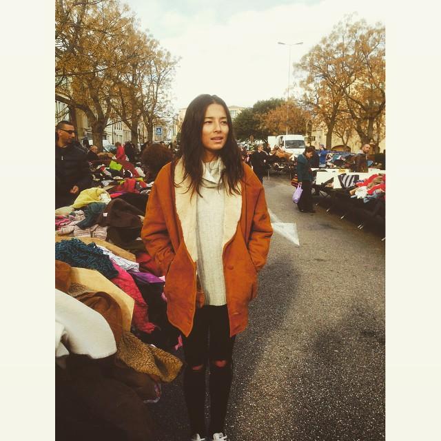 French Vintage Clothing Flea Market morning!