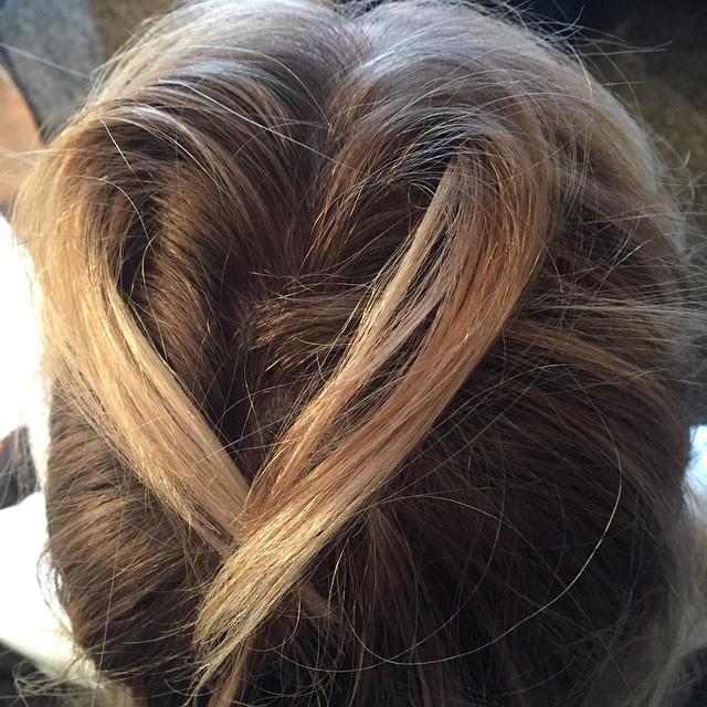 My hair is sending you LOVE @ceciliaromerohair Photo cred.
