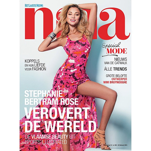 Hi belgium! #NinaMagazine out now + inside interview story and pictures!
