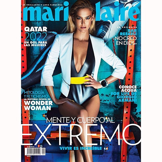 New Marie Claire Mexico & Latin America cover @hunterandgatti Styling by @alvmont & @lichleon hair by @peterbutlerhair make up by @missjobaker nails by @jennahipp production @pavonnyc and all by the supervisor, the greatest!! @valemicchetti