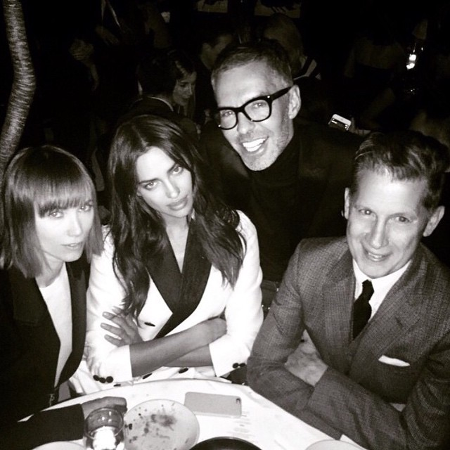 Repost @dsquared2 THANK U Dean & Dan for having me last night.. Amazing company as always! #stefanotonchi @anyaziourova