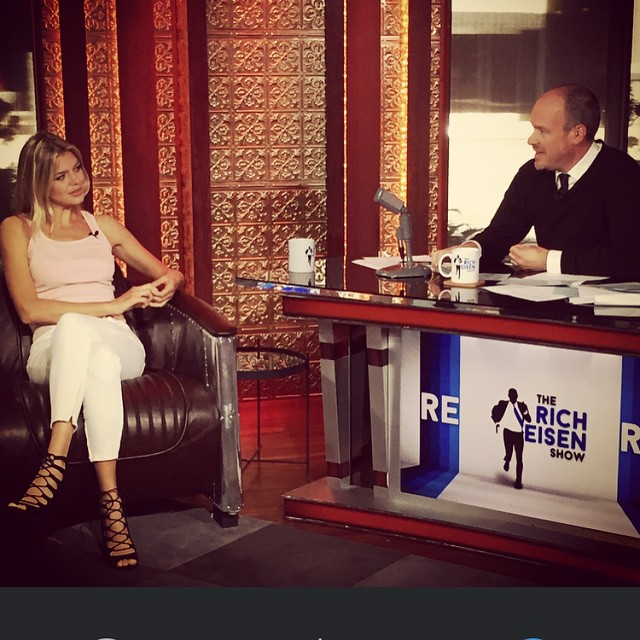 Hmmm, interesting point Rich. Talking sports and @si_swimsuit today on the @richeisen show on @espn