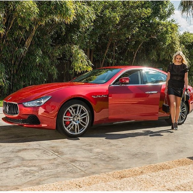 """Opening the door of a @maserati is like uncorking a fine wine"" #maserati"