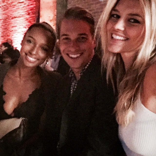 Crest campaign? Smile last night at #jfc2015 with @joshrotten and @jastookes. Thank you for having us!