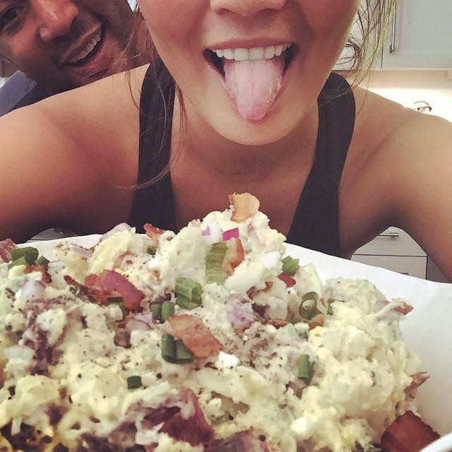 tato salad!