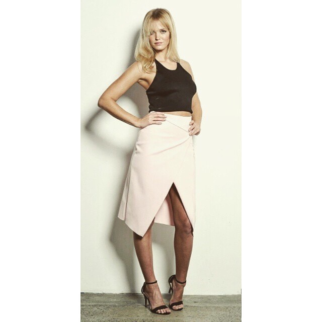 Love this @cmeocollective skirt and top #MBFWA