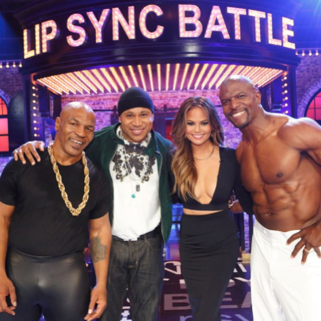 Celebrate our season two pickup by watching iron mike VS iron crews tonight 10/9c on Spike!! @spikelsb #LIPSYNCBATTLE