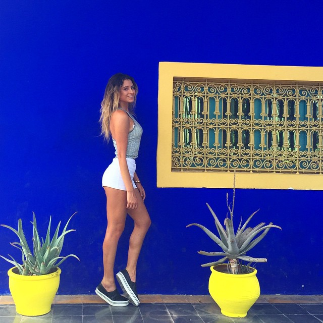 Checked out the Jardin Majorelle today with @beautifuldestinations @britishpoloday thanks for day @abercrombiekent @mirko1704