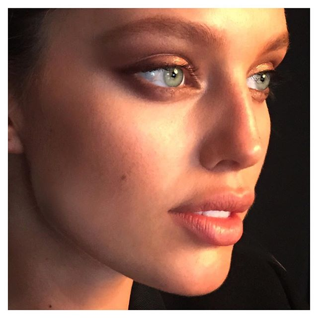 Can't get this amazing face out of my mind from today's cover shoot! @emilydidonato1 @imgmodels makeup @hungvanngo #nofilter hair @italogregorio