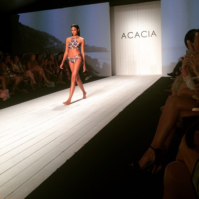 @acaciaswimwear crushing it with bikinis and beautiful girls Congrats on the show! #siswim