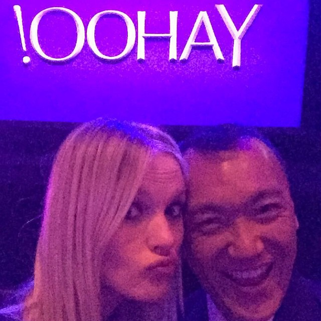 Always fun to see this guy @mrjoezee #newfronts