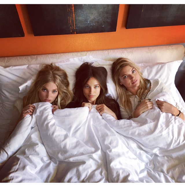 Girls in Paris @marhunt @hoskelsa @lolococo @imgmodels