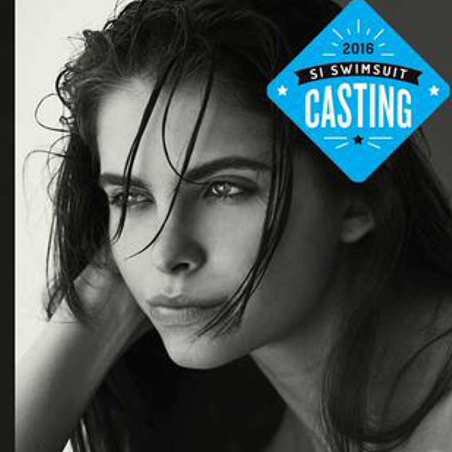 Castings are in full swing. Next up, @shaughnessybrown from @nextmodels (link in bio). #SISwimCastingCall