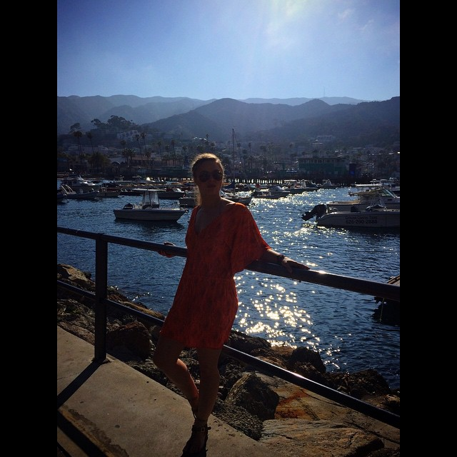 Hanging in Whatever, USA (aka Catalina Island )#budlight