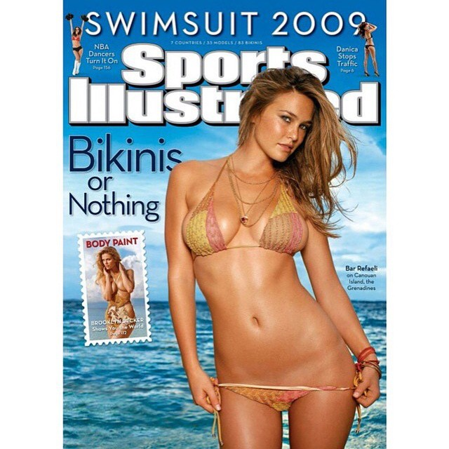 Everyone wish our 2009 cover girl @barrefaeli a very Happy Birthday! See 30 of her best @si_swimsuit pictures on Swim Daily (link in bio). #tbt #siswim #barrefaeli - by @raphaelmazzucco