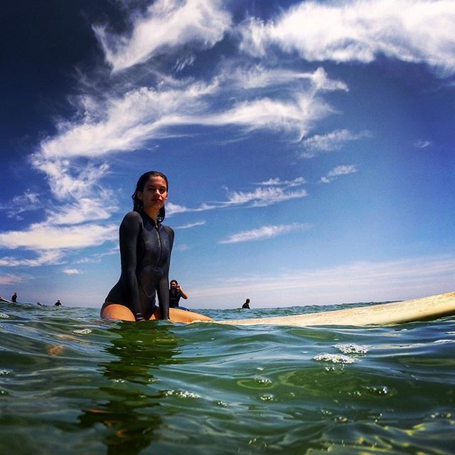Beautiful day out surfing, and making a special video for you guys! Stay tune! :)))) #thesurflodge