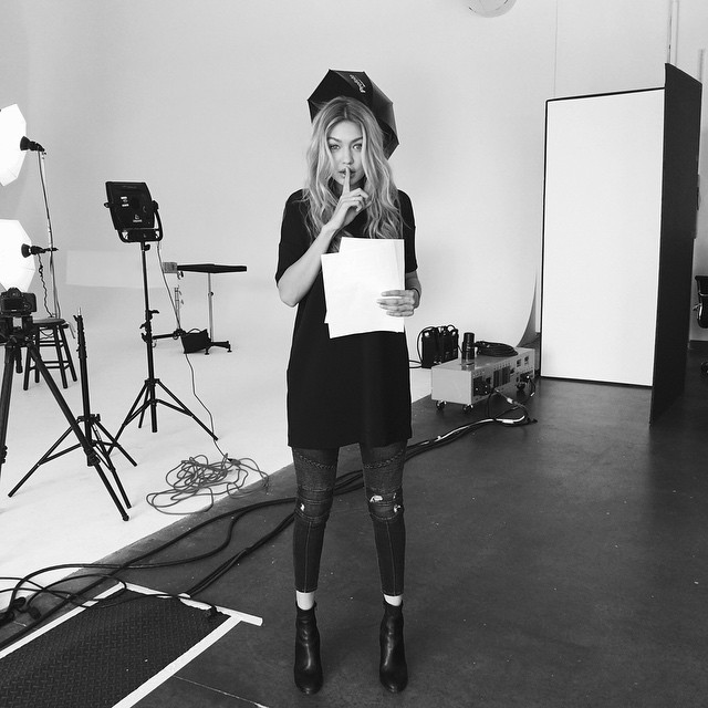 Workin on a lil somethin with @evianwater Stay tuned.. #liveyoung