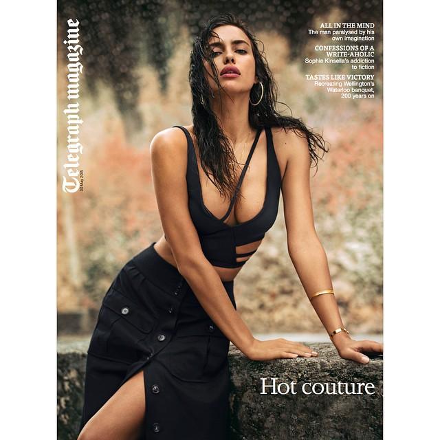 Loving my June cover of @telegraphmag! Thank you @derekkettela @aureliadonaldson @valgherman for the perfect summer day @alikavoussi @thelionsny @selectmodelmgmt