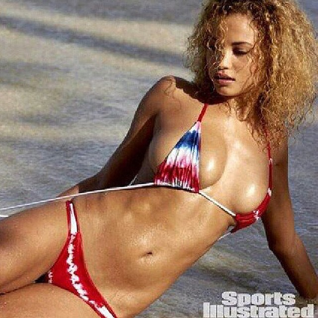 Get ready now for your #4thofjuly #getaway On line and in store now. As worn by Rose Bertram in #sportsillustrated #swimsuit 2015. #americana #boho #bikini #bohemian #bohochic #bikinis #swimsuit #swimwear #siswim #model #models #sundayfunday #beach #beauty #getitnow