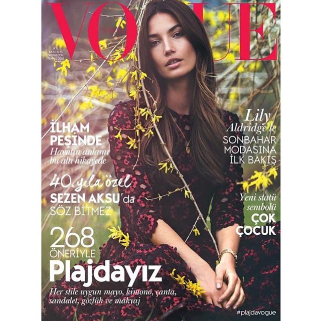 @VogueTurkiye July Cover by @DavidBellemere Styled by @KoncaAykan Hair by @edwardlampley Makeup by @benjaminpuckey