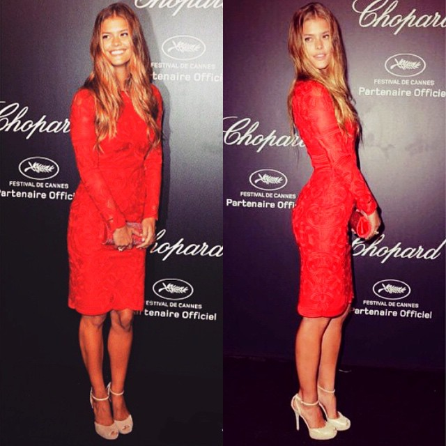 Time flies when ur in Cannes! Had so much fun letting my hair down @chopard party monday night