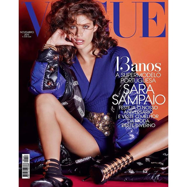 So excited to finally show u guys my new cover of @vogueportugal for the anniversary issue November 2015! @centralmodels