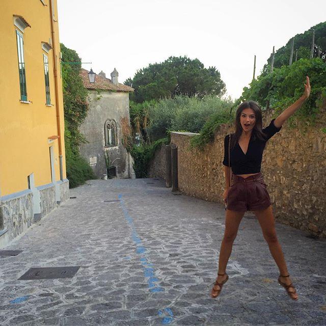 Jumping for joy in Italia! #ppandemeatpasta2015
