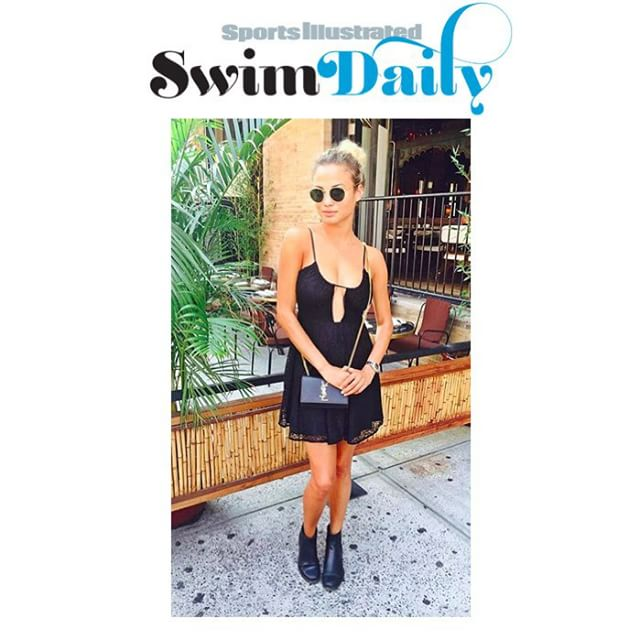 The #lbd never looked so #sexy or #stylish thanks to @si_swimsuit #model @rose_bertram! Her flirty #dress, @ysl #crossbody and #edgy booties make the #perfect sassy #streetstyle! #shop with link in bio!