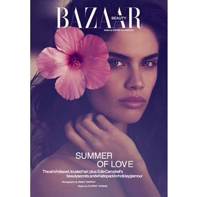 Love my new @bazaaruk August 2015 shot by @emstempest in Antigua with @sophiebloomfield @florriet and @mrjosequijano @sandracooke #fashion #bazaaruk #editorial #beauty #beach #summer @thelionsny @models_1uk @alikavoussi