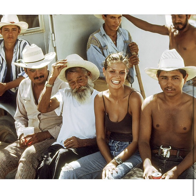 Photo Blast from the Past: Hanging out on a shoot in Mexico with @MathewMcCabe13