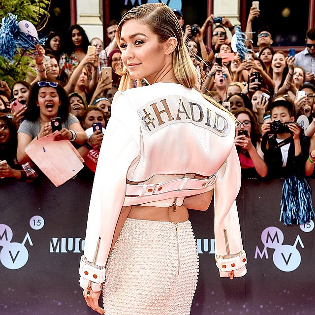 @GigiHadid SLAYED at the Much Music Video Awards. See who else rocked the red carpet at PEOPLE.com! George Pimentel/WireImage