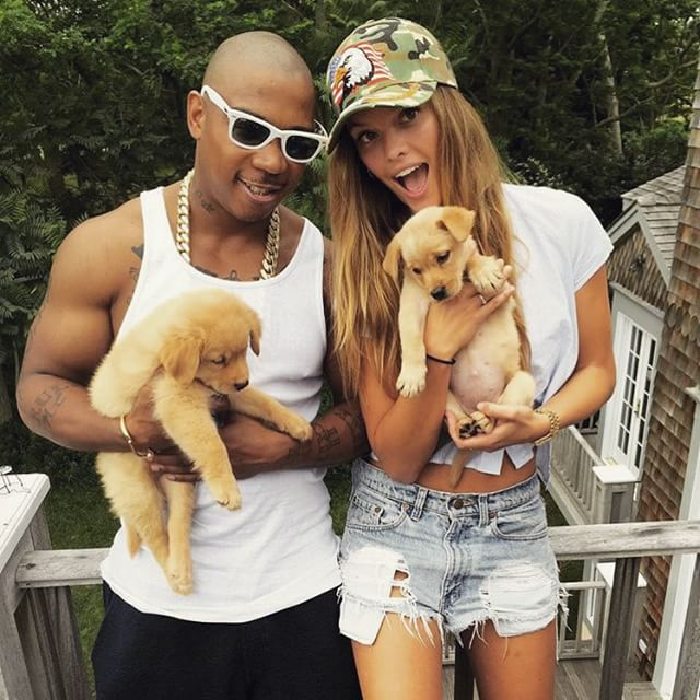with Ja Rule and some puppies @ruleyorkcity