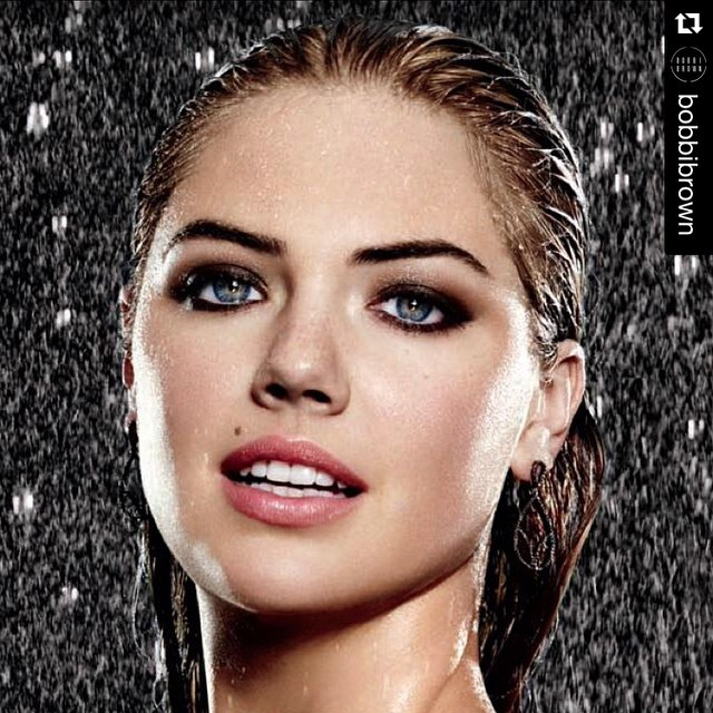 #Repost @bobbibrown with @repostapp. ・・・ The smokey eye. Smudged,sparkling and so smoldering. #longwear #lifeproof. @kateupton @justbobbibrown