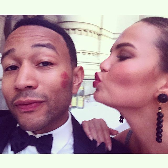 Pucker up, it's #InternationalKissingDay! @johnlegend and @chrissyteigen celebrate with a sweet smooch. | #regram @johnlegend - See more at: http://iconosquare.com/viewer.php#/detail/1023370085119299581_18464866