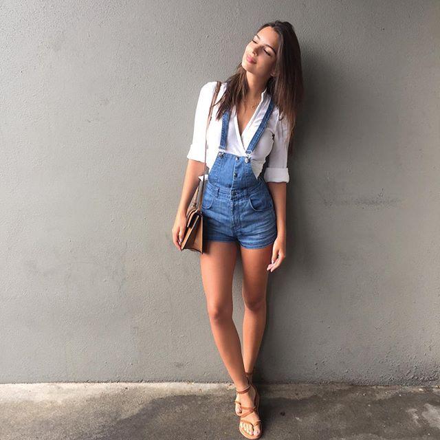 Working girl overalls.